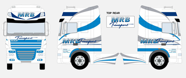 MRB Transport New Livery